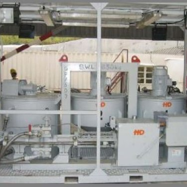 HD Engineering HYDRAULIC GROUT STATION